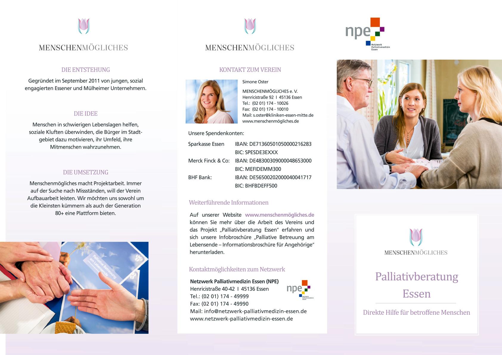 NPE – Flyer Palliativberatung Essen