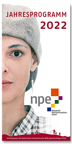 Jahresprogramm 2022 des Netzwerk Palliativmedizin Essen, npe